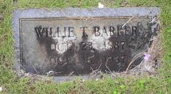 "William Thomas ""Willie"" Barker"