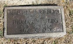 Martha A. <I>Wilburn</I> Atkins