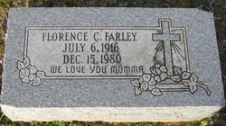Florence <I>Caldwell</I> Farley