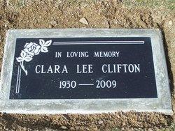 Clara Lee <I>Grant</I> Clifton