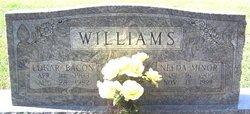 "Edgar Bacon ""Eddie"" Williams"