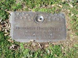 Dorothy <I>High</I> Peteet
