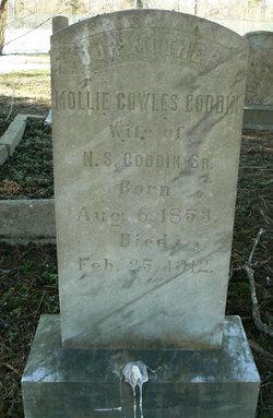 "Mary Matilda ""Mollie"" <I>Cowles</I> Goddin"