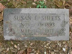 Susan Elizabeth <I>Thacker</I> Sheets