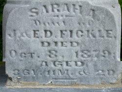 Sarah A. Fickle