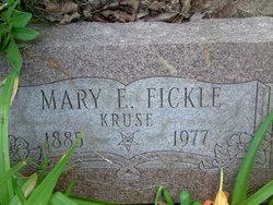 Mary E. <I>Ayers</I> Kruse