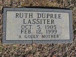 Ruth <I>Barbour</I> Lassiter