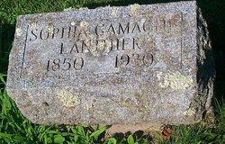 Sophia <I>Gamache</I> Lanthier