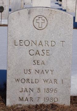 Leonard T Case