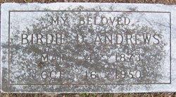 Birdie D <I>Robinson</I> Andrews