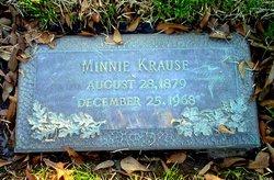 Minnie <I>Sosmanshaus</I> Krause