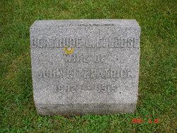 Gertrude Lillian <I>Elledge</I> Fitzpatrick