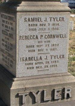 Rebecca P. <I>Cornwell</I> Tyler