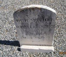 Martha <I>Douglass</I> Hendrick