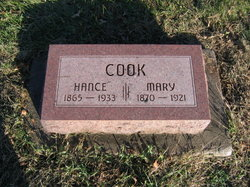Mary <I>Walker</I> Cook