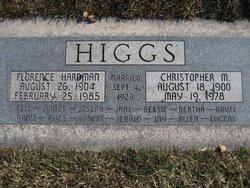 Florence Ann <I>Hardman</I> Higgs