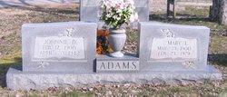 Johnnie D Adams, Sr