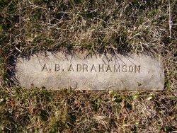 Axel Burnhardt Abrahamson