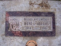 Irene Luella <I>McMullen</I> Abrams