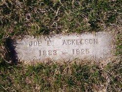 Joe E Ackelson