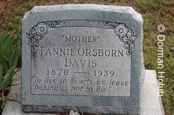 Fannie Anne <I>Osborn</I> Davis