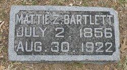 "Martha Zella ""Mattie"" <I>Deason</I> Bartlett"
