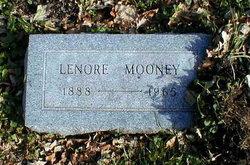 """Lenore """"Nora"""" <I>Burke</I> Mooney"""