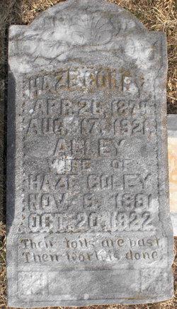 Thomas Haze Coley