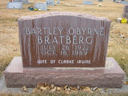 Bartley <I>O'Byrne</I> Bratberg