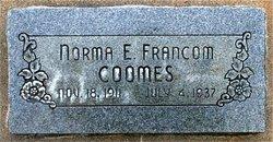 Norma E <I>Francom</I> Coomes
