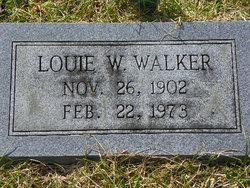 Louie W Walker