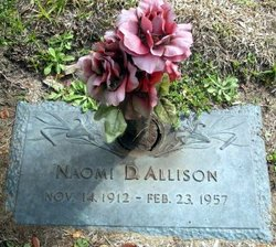 Naomi <I>Daugherty</I> Allison