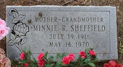 Minnie Roberta <I>Hall</I> Sheffield