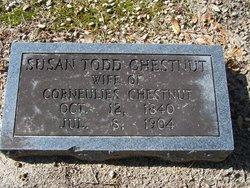 Susan <I>Todd</I> Chestnut