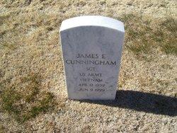 James E Cunningham