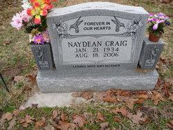 "Naydean Flossie ""Dean"" <I>Daniels</I> Craig"