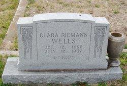 Clara <I>Riemann</I> Wells