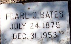 Pearl Celeste <I>Jones</I> Bates