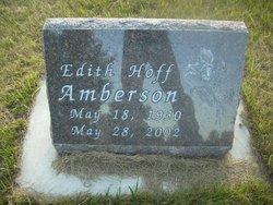 Edith Vivian <I>Helgeson</I> Amberson