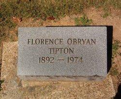 Florence <I>O'Bryan</I> Tipton