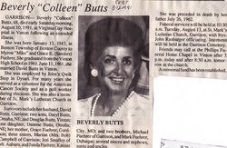 Beverly Colleen <I>Fuehrer</I> Butts
