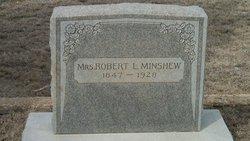 """Victoria """"Mrs Robert L"""" <I>Parker</I> Minshew"""