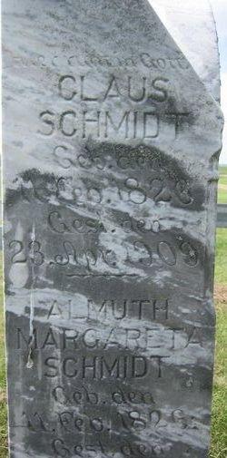 Almuth Margareta <I>Brandt</I> Schmidt