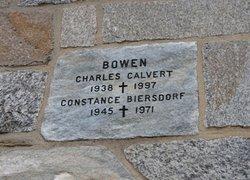 Constance <I>Biersdorf</I> Bowen