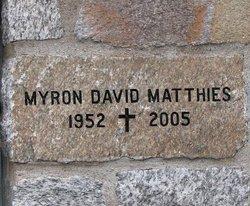 Myron David Matthies