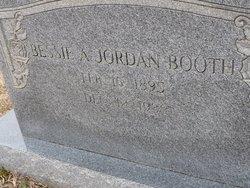 Bessie A <I>Jordan</I> Booth