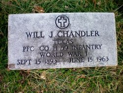 PFC Will J. Chandler