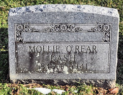 Mollie <I>O'Rear</I> Kash