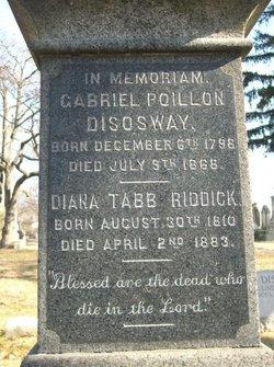 Rev Gabriel Poillon Disosway