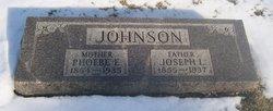 Phoebe Elizabeth <I>Elmore</I> Johnson